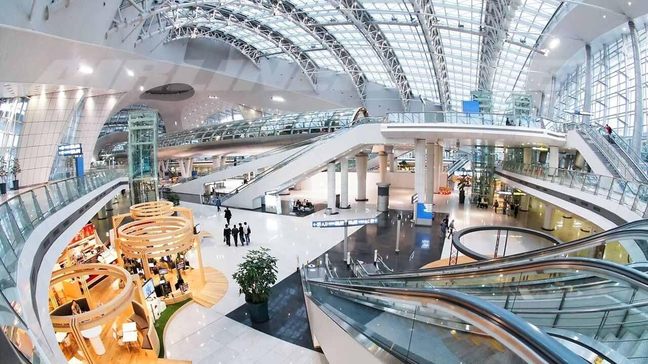 Sân bay Incheon là điểm đến có vé máy bay rẻ nhất