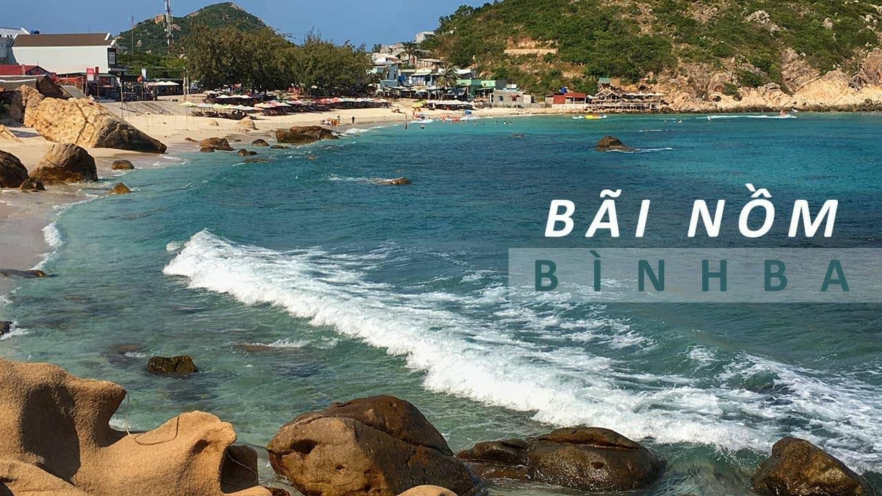 Du khách sẽ được tự do tắm biển tại Bãi Nồm, Bình Ba