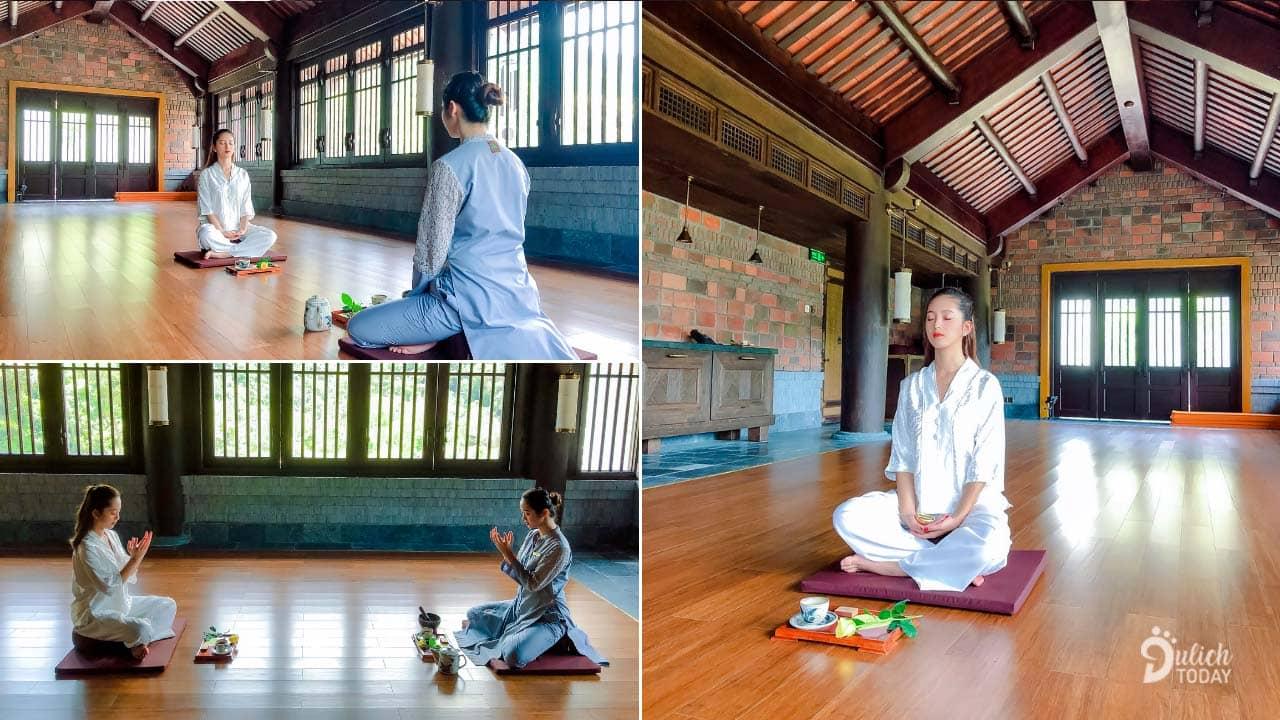 Bộ môn Thiền Trầm tại Legacy Yên Tử