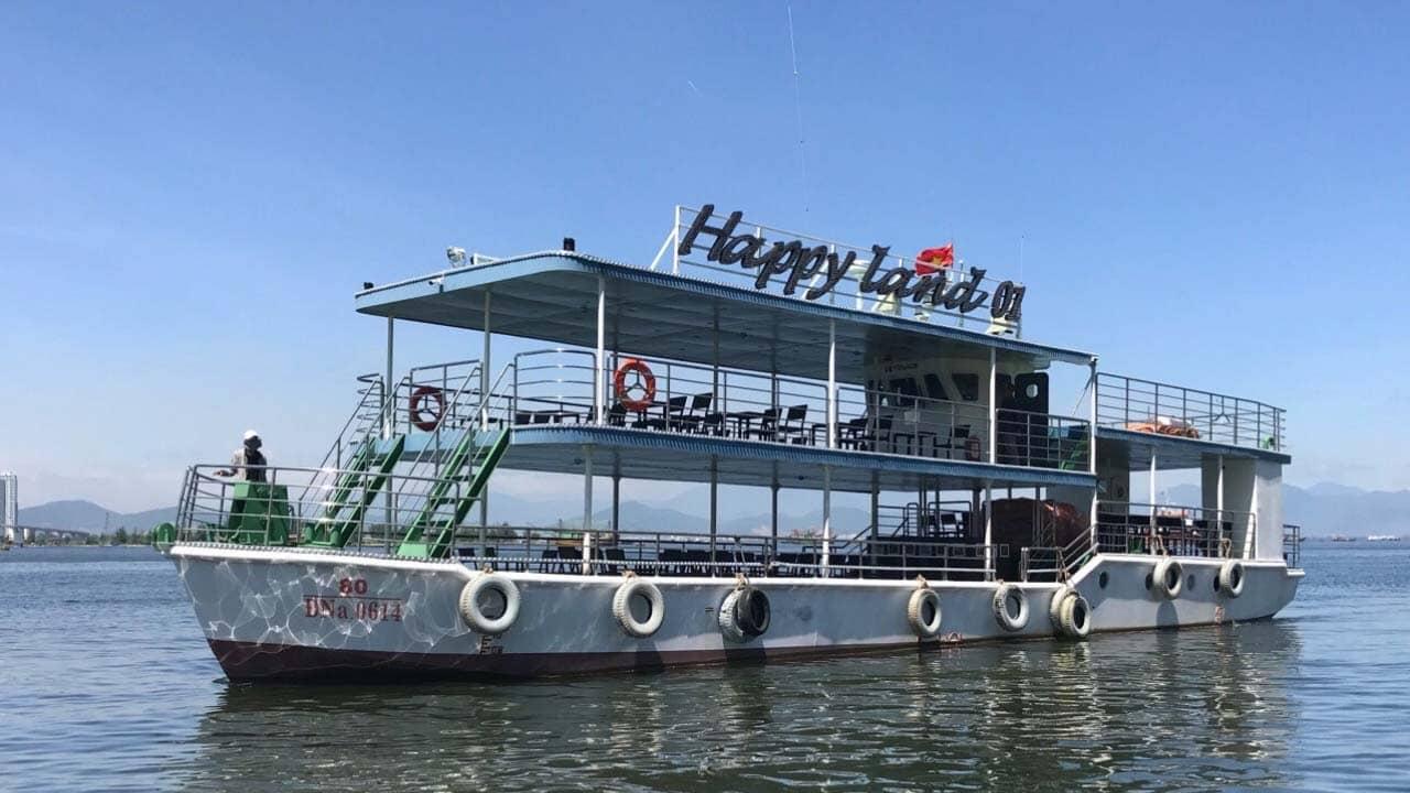 Du thuyền sông Hàn mới nhất: Happy Land