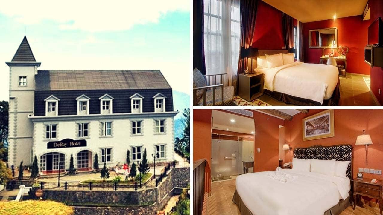 Tour Bà Nà Hill 2 ngày 1 đêm nghỉ ngơi tại khách sạn Làng Pháp 4 saosang trọng