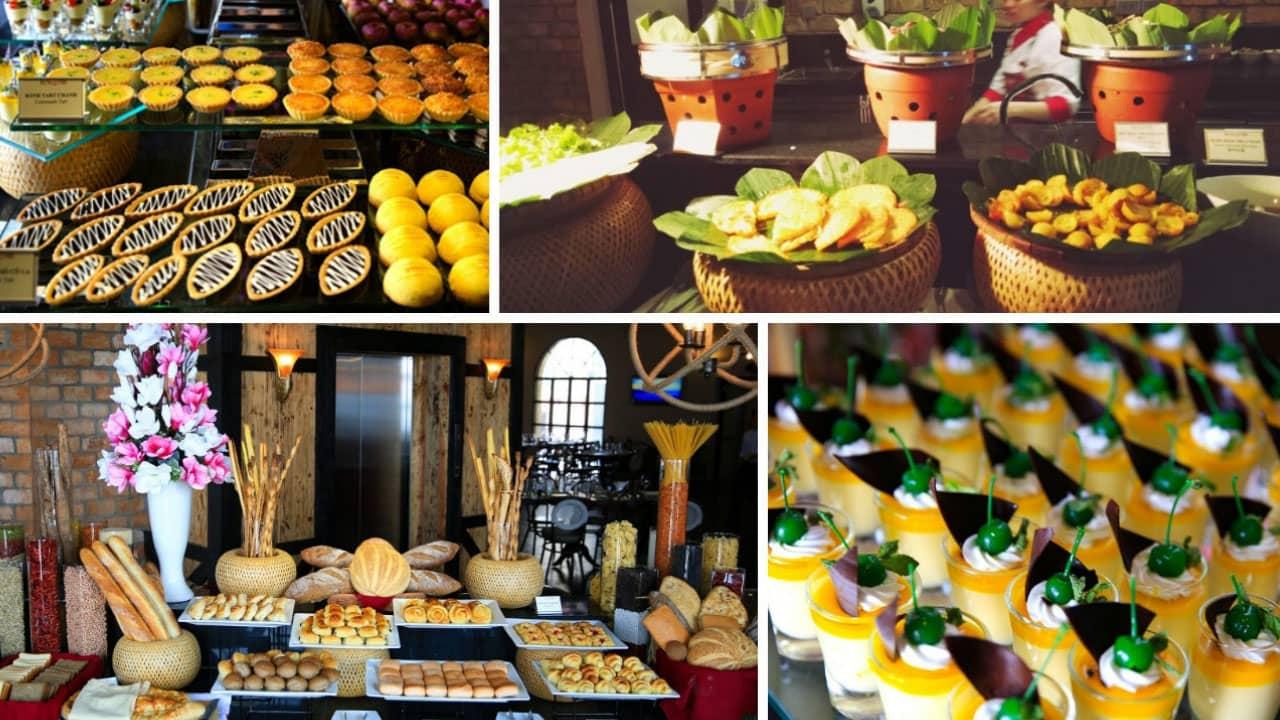 Nhà hàng Lavender nơi có đến hơn 100 món ăn để du khách thoải mái lựa chọn