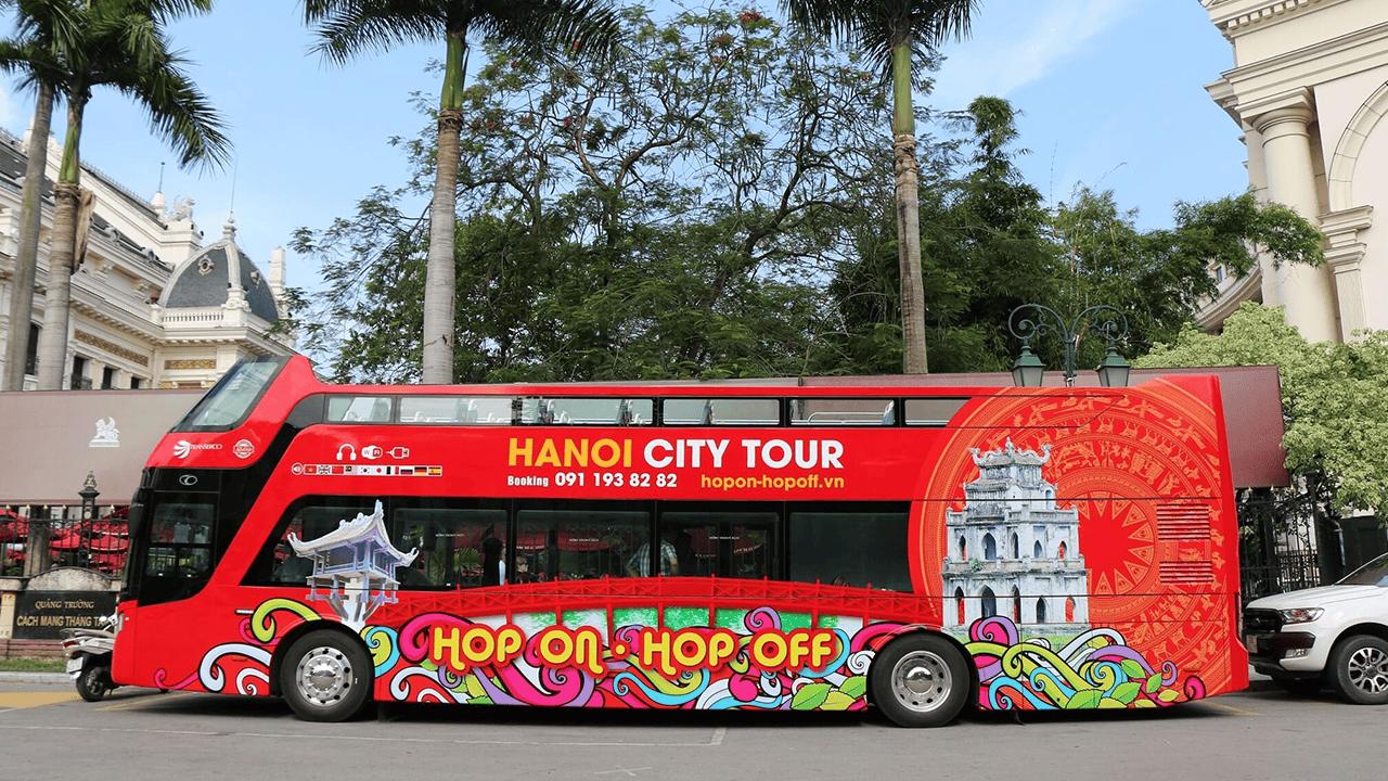 Tuyến xe buýt hai tầng đưa bạn đi khám phá Hà Nội