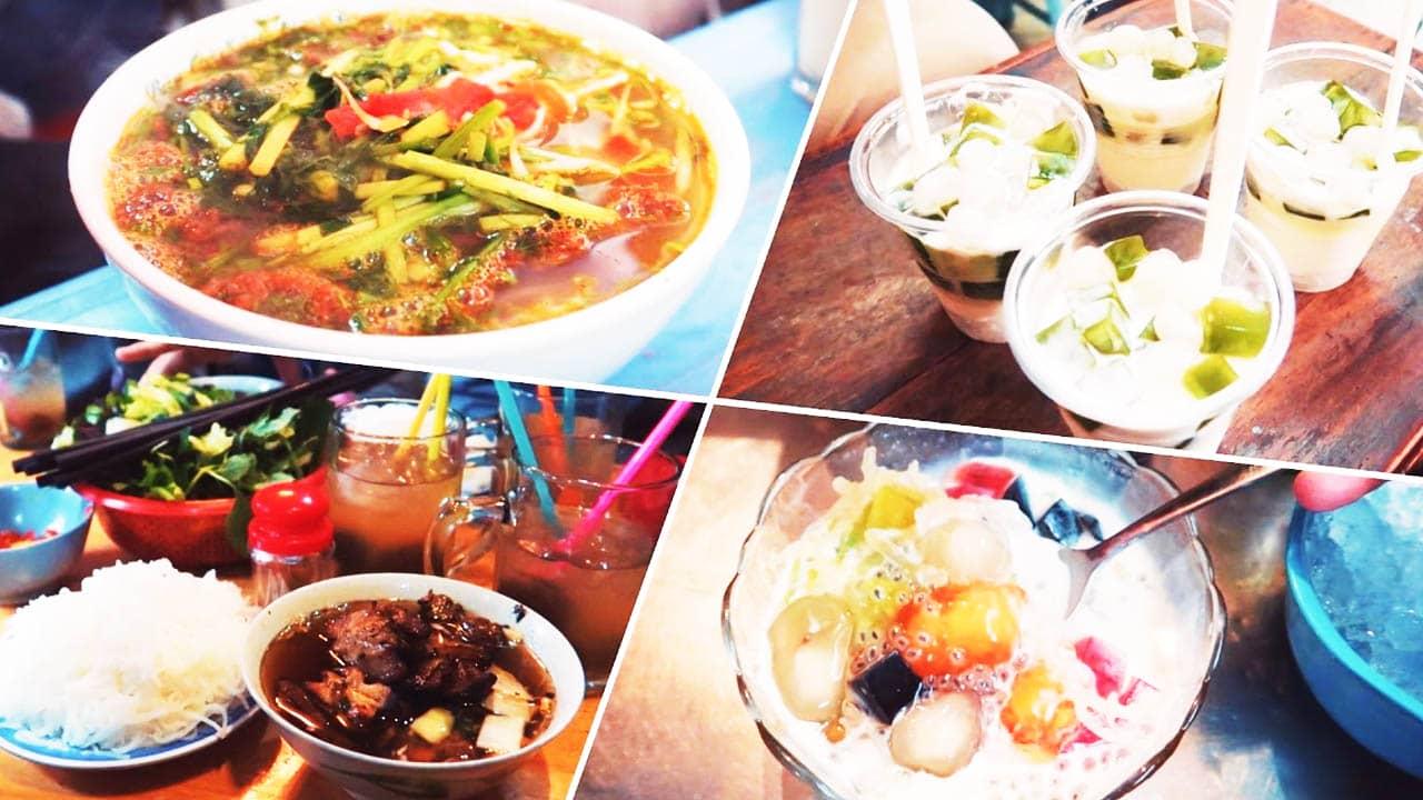 Những món ăn đường phố bạn có thể thưởng thức trong tour