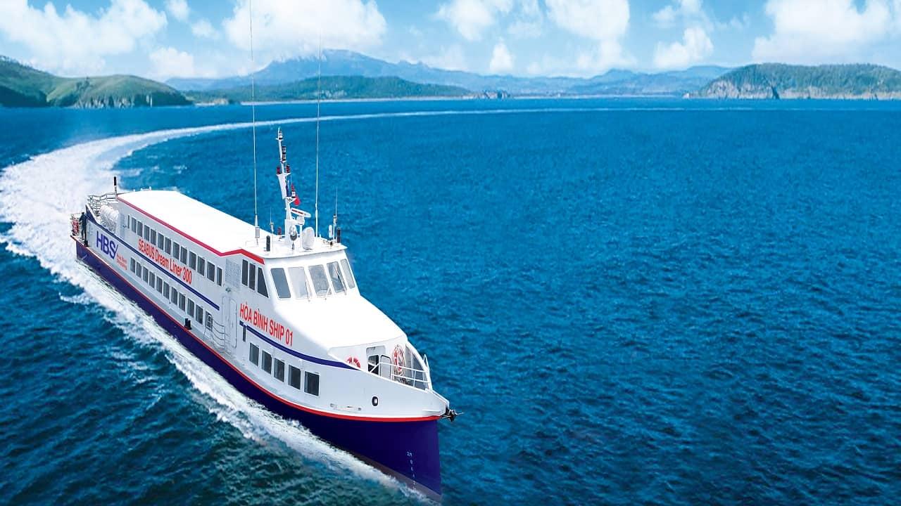 Tàu cao tốc Hòa Bình Ship