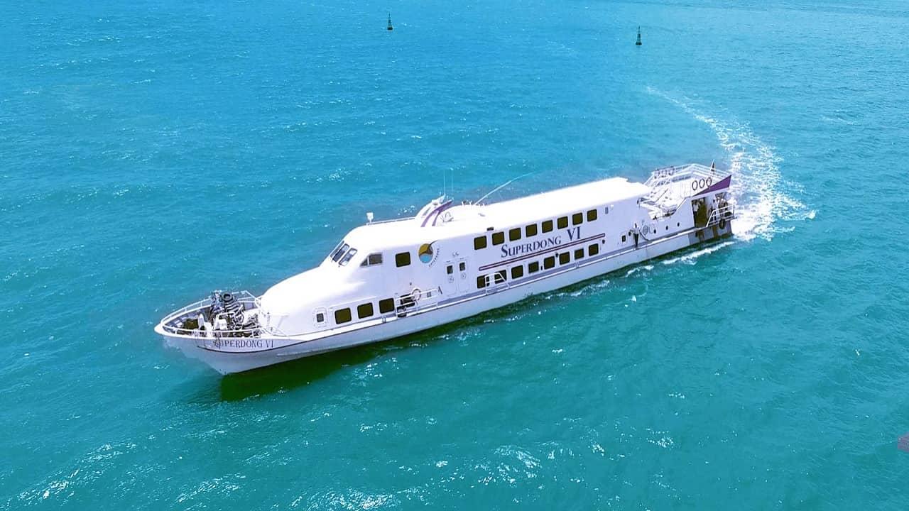 Superdong - Tàu cao tốc phú Quốc có nhiều tuyến phục vụ du khách nhất