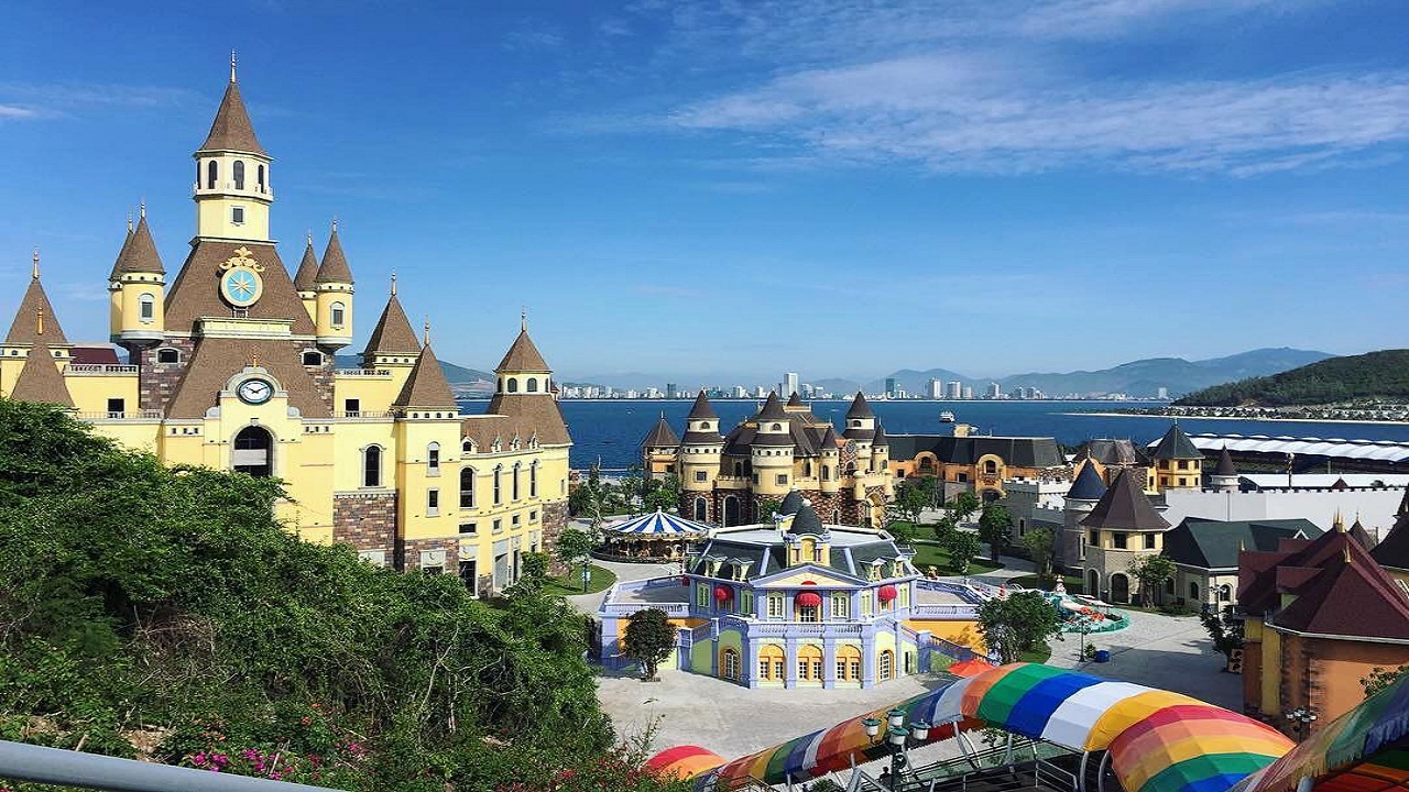 Vinpearl Land Nha Trang trên đảo Hòn Tre