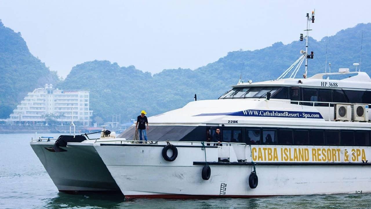 Hãng tàu cao tốc Catba Island