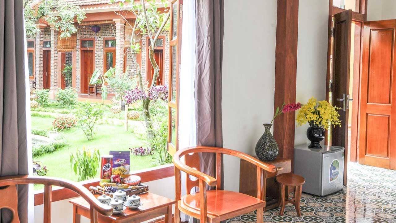 Phòng nghỉ tiện nghi tại La Belle Vie Tam Cốc