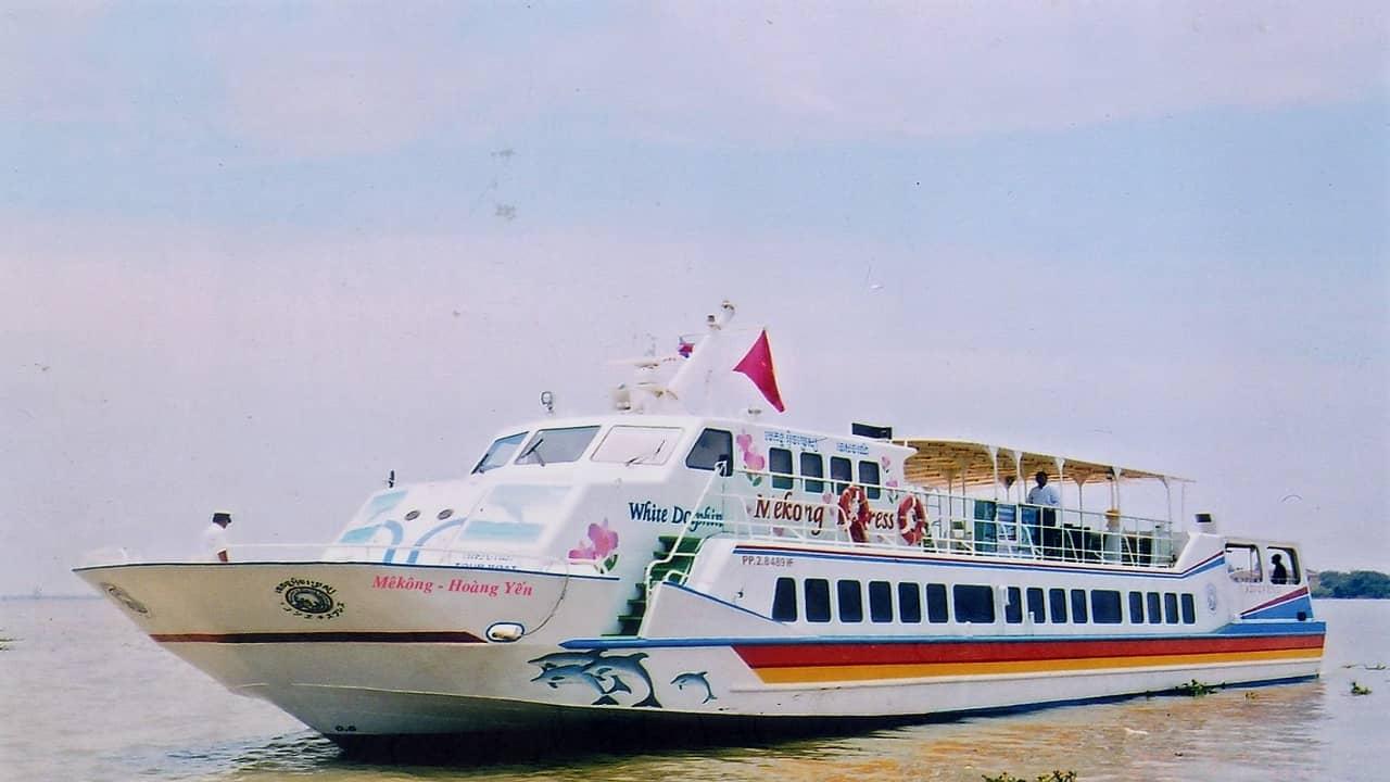 tàu cao tốc Mekong Hoàng Yến
