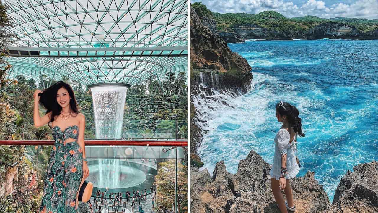 Instagram của Vân Anh ngập tràn những bức ảnh du lịch cực kỳ sinh động và hấp dẫn.