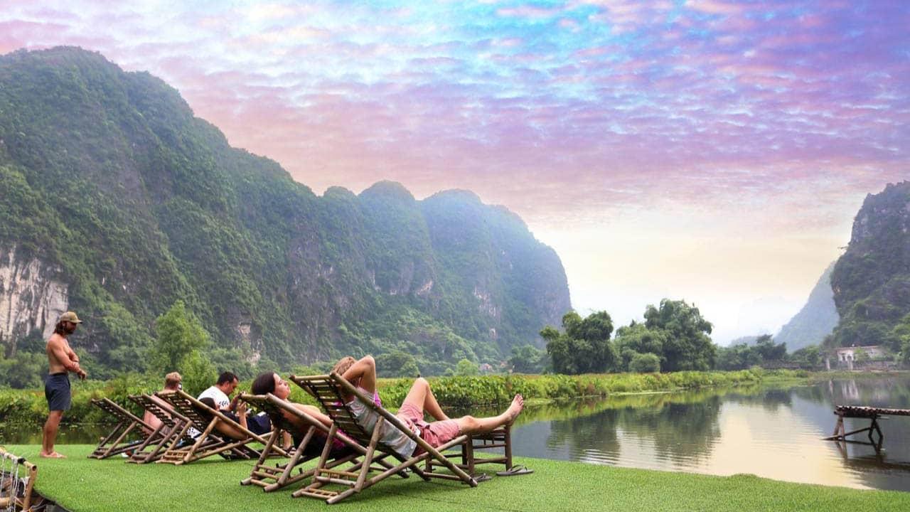 Những hoạt động nghỉ dưỡng ngoài trời tại Quốc Khánh Bamboo Homestay
