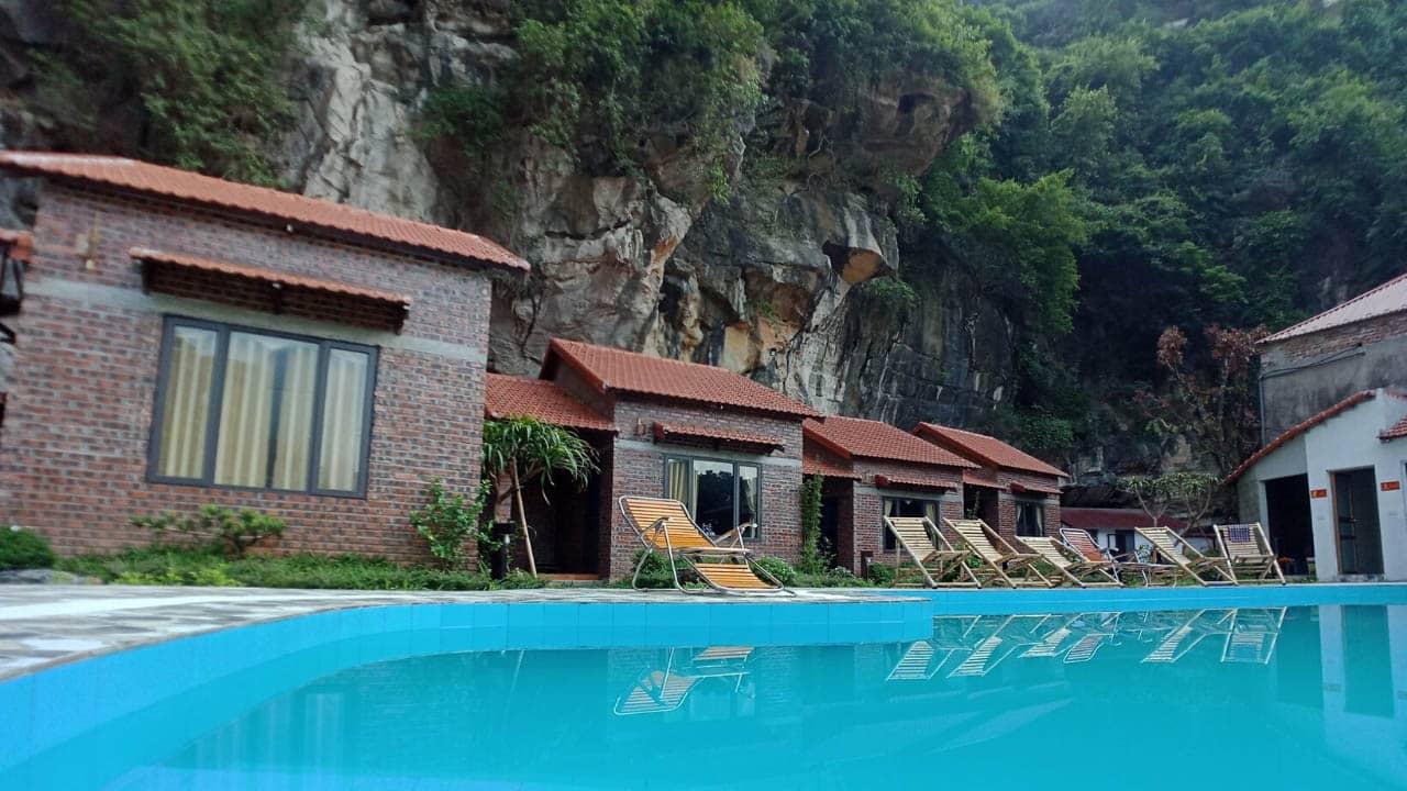 Tràng An Central Homestay với hồ bơi checkin siêu ảo