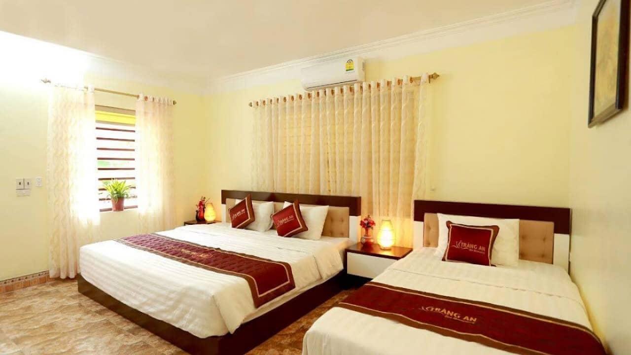 Phòng ngủ đầy ấm cúng tại Eco Homestay