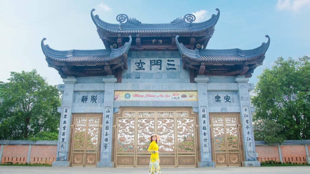 Chùa Bái Đính - địa điểm du lịch tâm linh nổi tiếng đất Ninh Bình