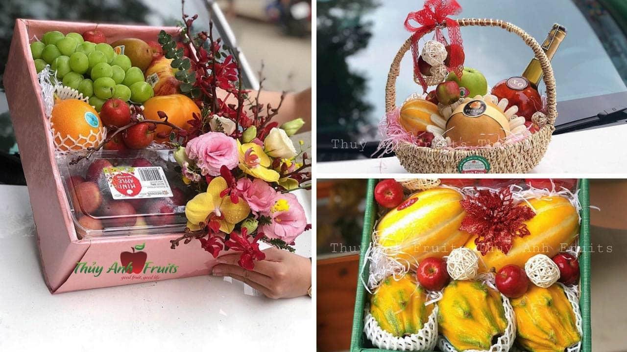 Một số mẫu hộp quả, giỏ hoa quả tại Thủy Anh Fruit