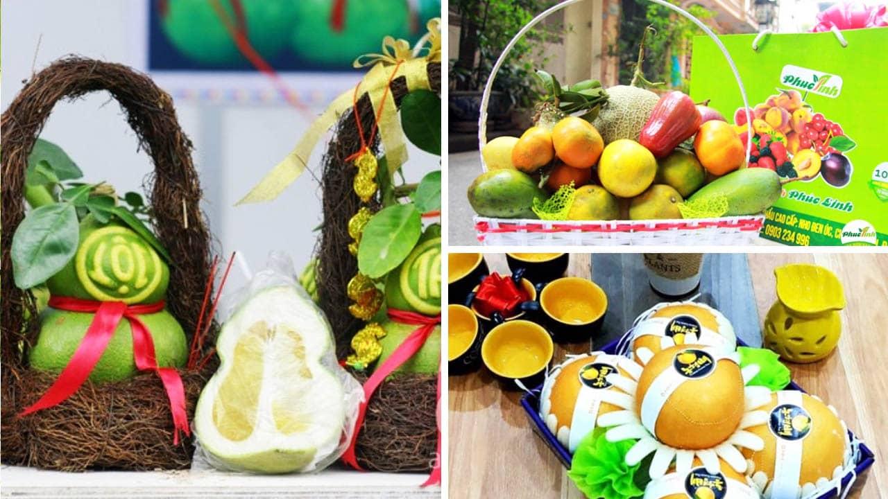 Lựa chọn giữa giỏ hoa quả: truyền thống và hiện đại