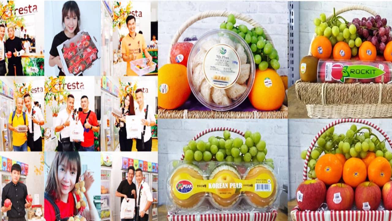 Fresta - giỏ trái cây nhập khẩu