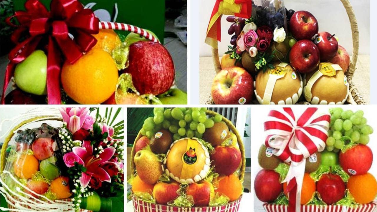 Các mẫu giỏ hoa quả tại Bigcake