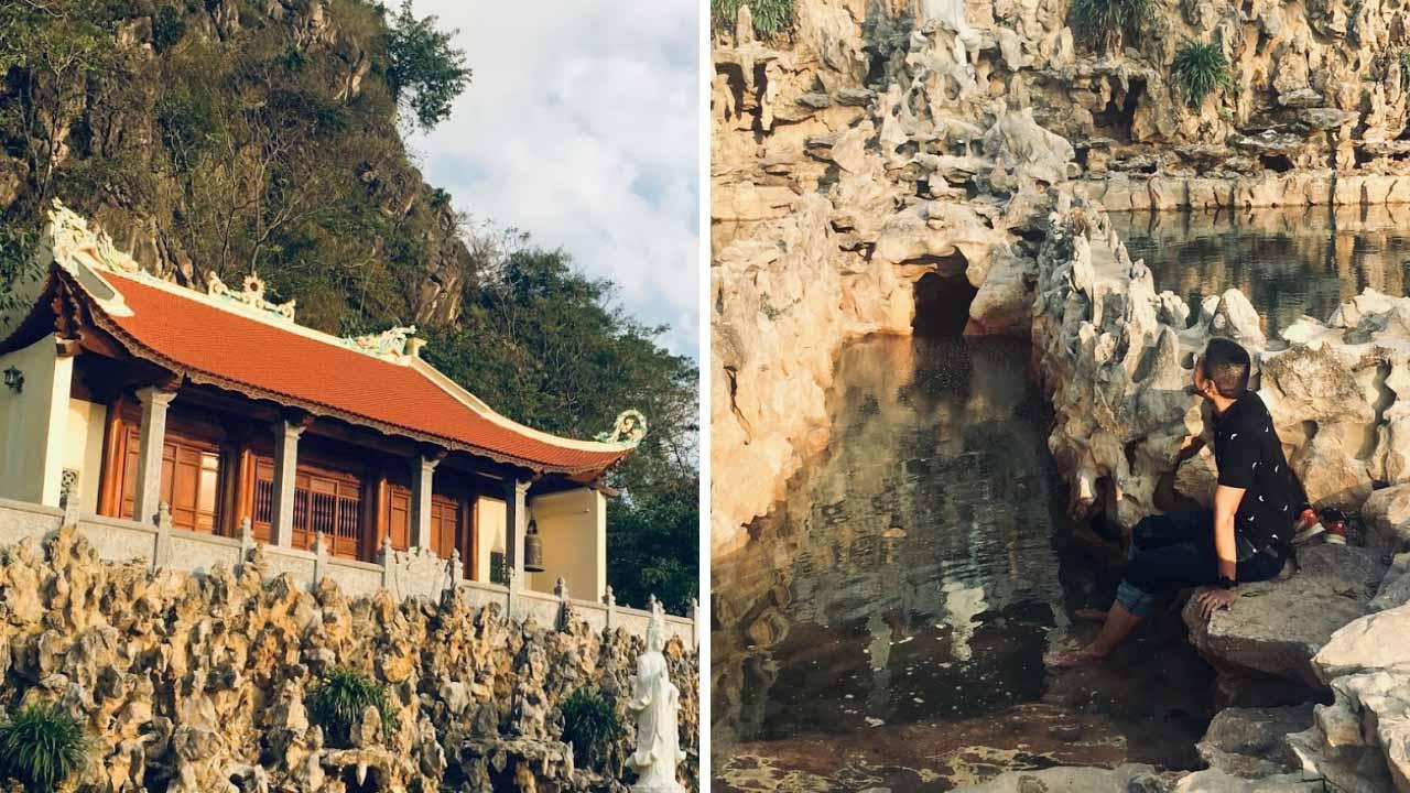 Kênh Gà được biết đến là địa điểm du lịch Ninh Bình có suối nước nóng tự nhiên độc lạ.