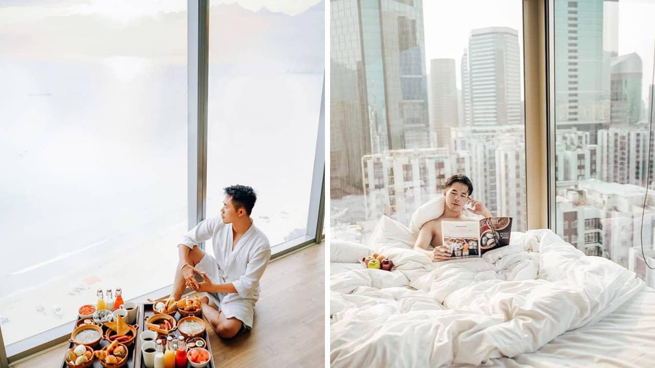 Phan Thế Anh được biết đến là travel influencer có phong cách mới mẻ