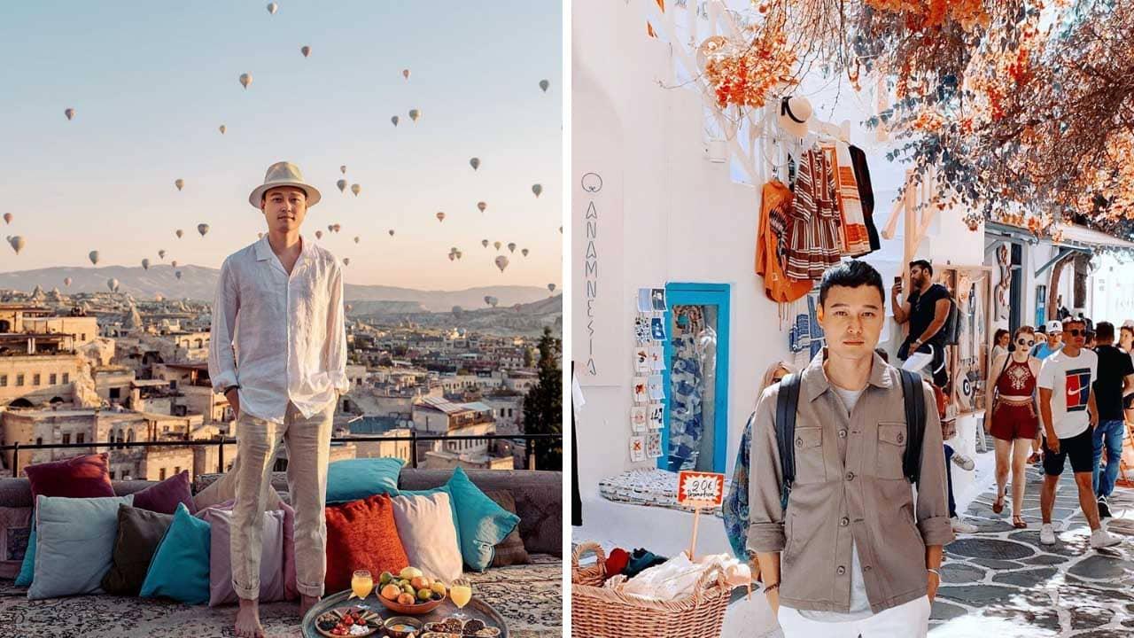 Quang Vinh là travel influencer với những cuộc khám phá đầy sang chảnh
