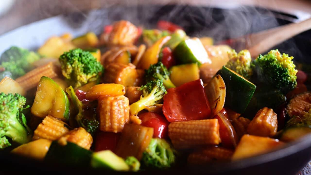 Rau củ kho chay là món ăn ưa thích của các tôn ni phật tử