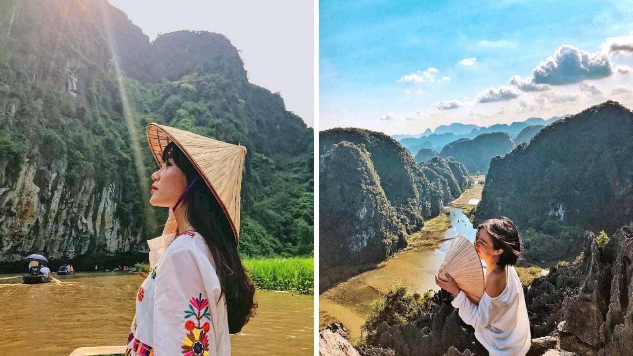 Tam Cốc Bích Động - địa điểm du lịch Ninh Bình với view checkin tuyệt đẹp