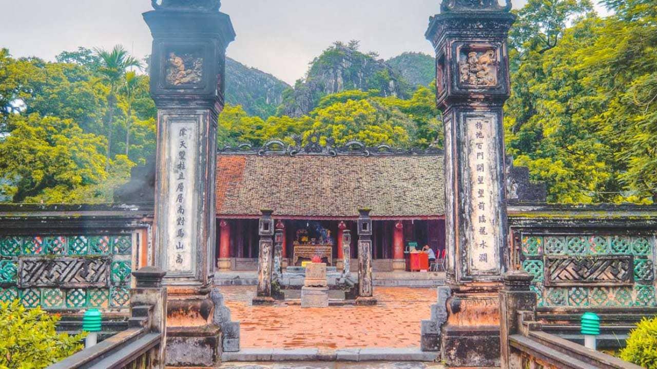 Kiến trúc độc đáo tại đền thờ vua Đinh Tiên Hoàng