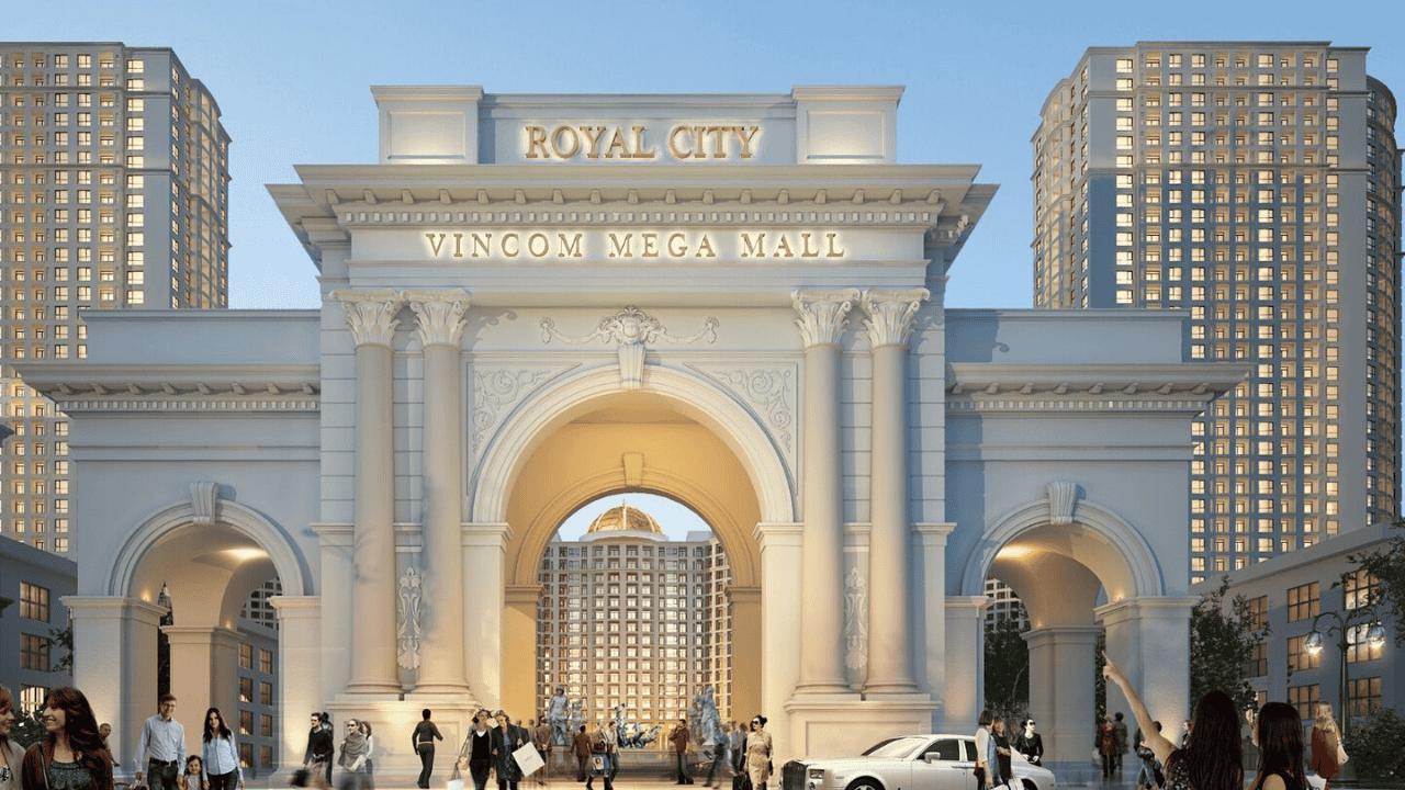 Khu đô thị Royal City - địa điểm hẹn hò kết hợp mua sắm tại Hà Nội