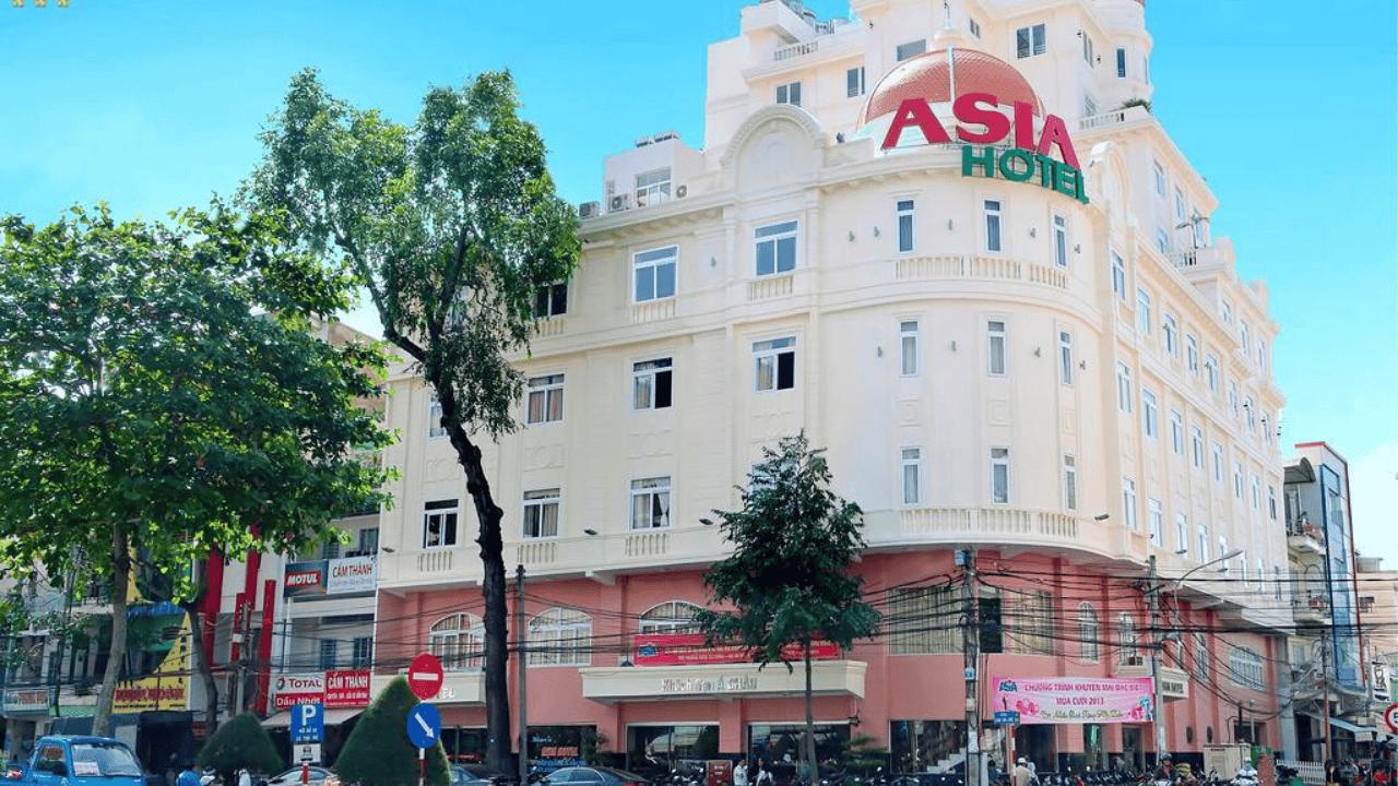 Asia Hotel sở hữu vị trí địa lý vô cùng thuận lợi