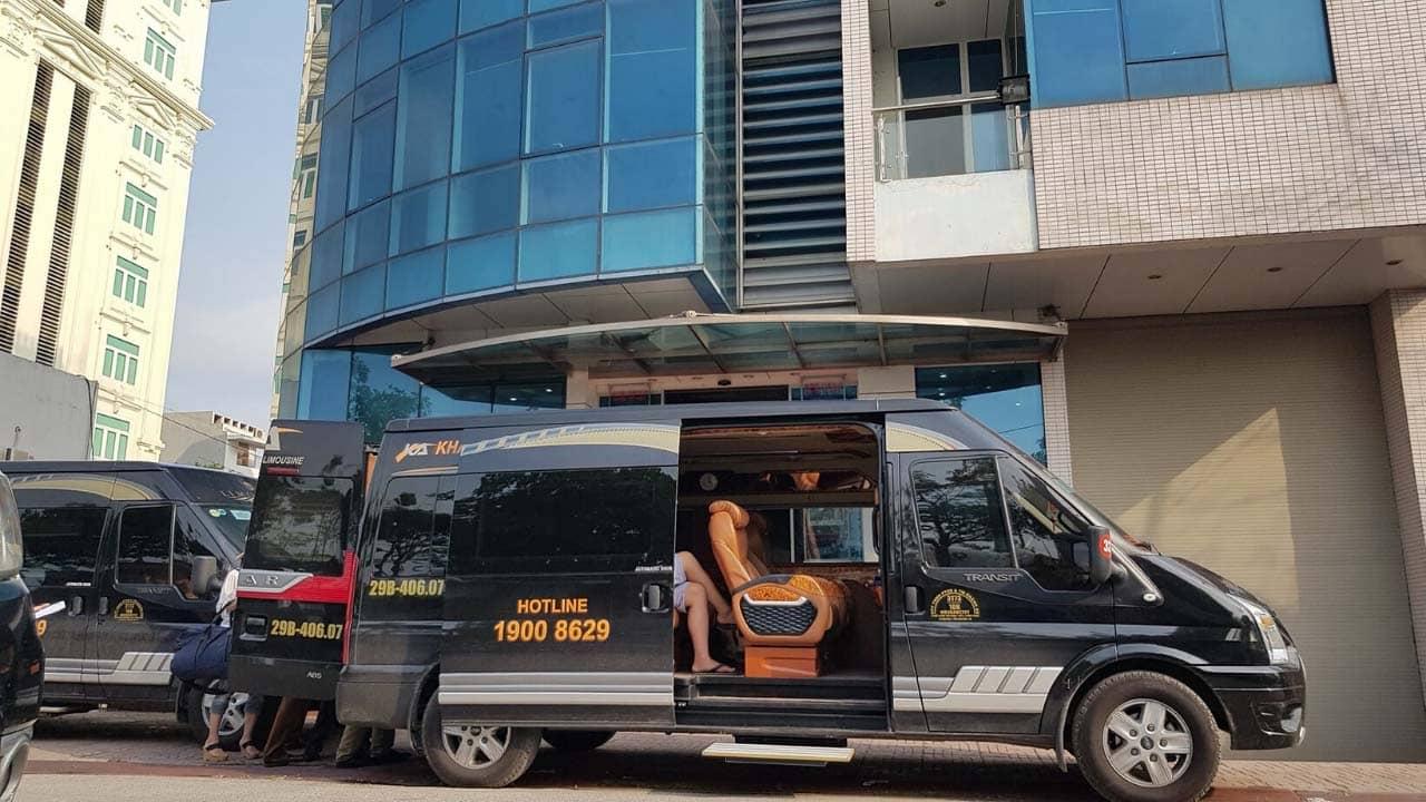 Khánh An - nhà xe limousine Ninh Bình giá rẻ chất lượng