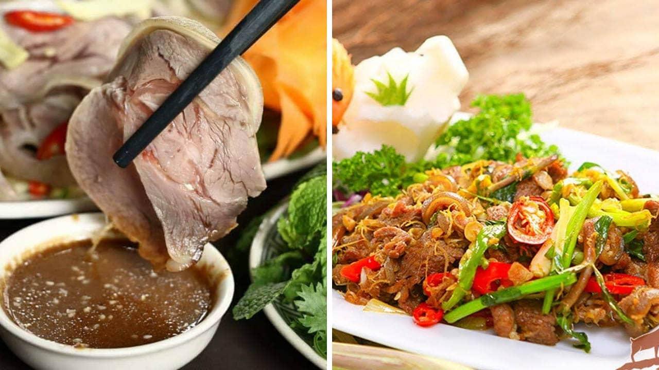 Thịt dê là linh hồn ẩm thực tại Ninh Bình