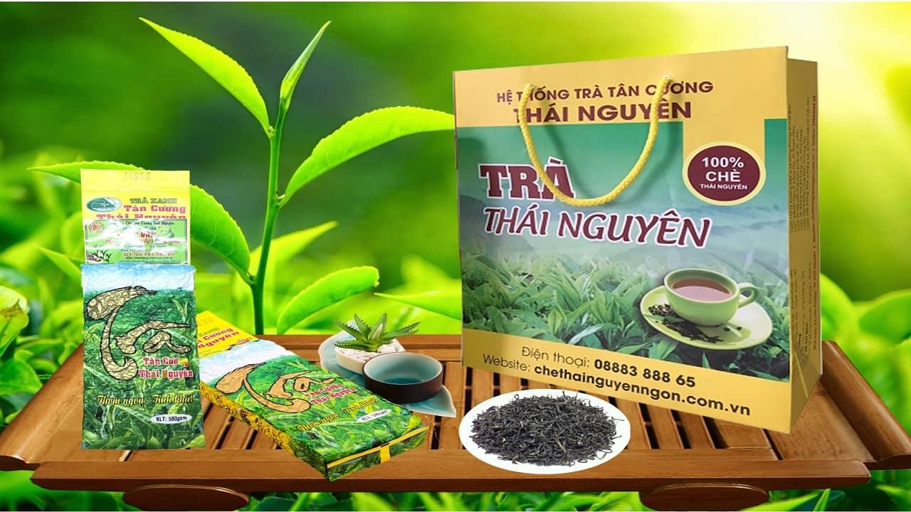 Trà Thái Nguyên - trà biếu Tết truyền thống miền Bắc