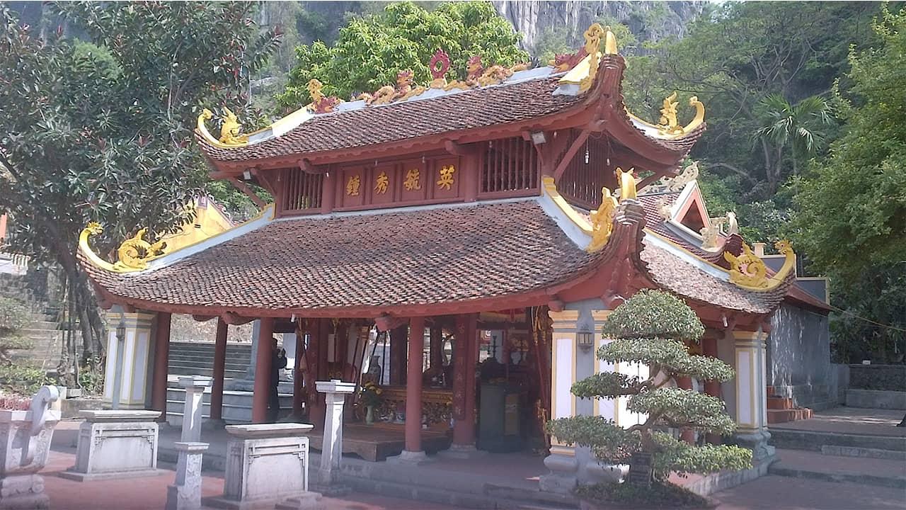 Hoa văn độc đáo của chùa Long Tiên Quảng Ninh mang đậm nét kiến trúc thời Nguyễn
