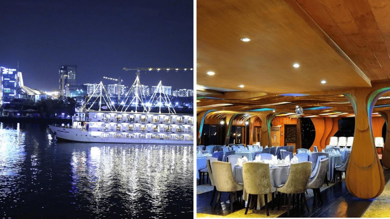 Tận hưởng bữa tối lãng mạn trên du thuyền Sài Gòn