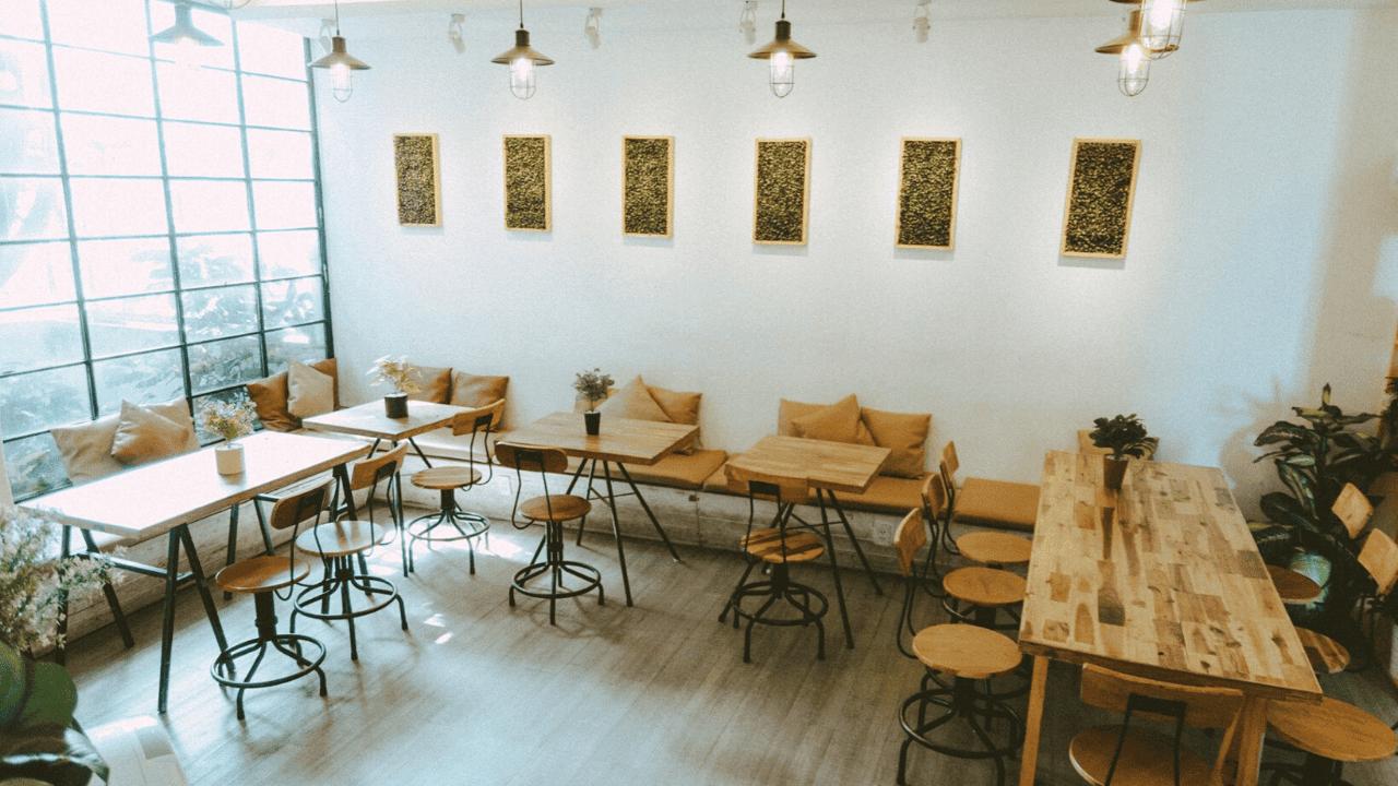 Oromia Coffee là địa điểm valentine Sài Gòn xinh xắn