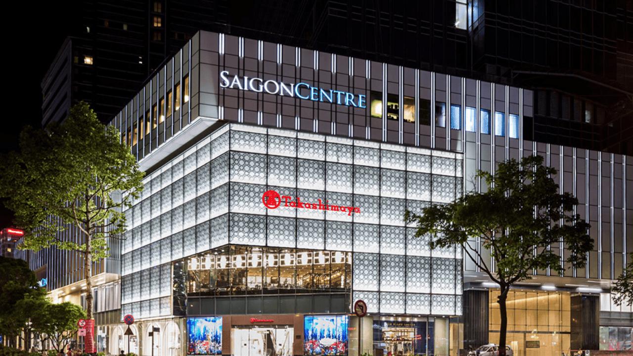Saigon Centre là địa điểm valentine Sài Gòn siêu hot