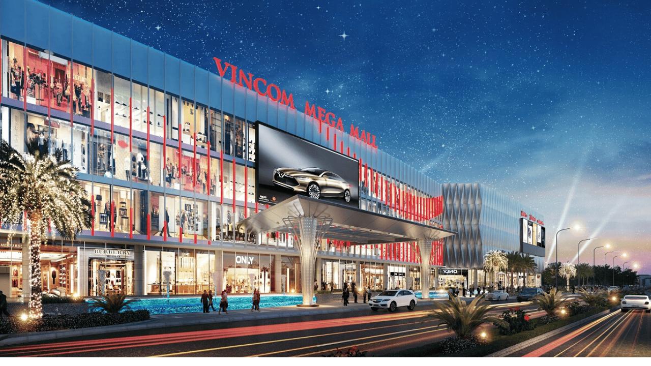 Choáng ngợp với không gian sang chảnh tại Vincom Mega Mall Thảo Điền