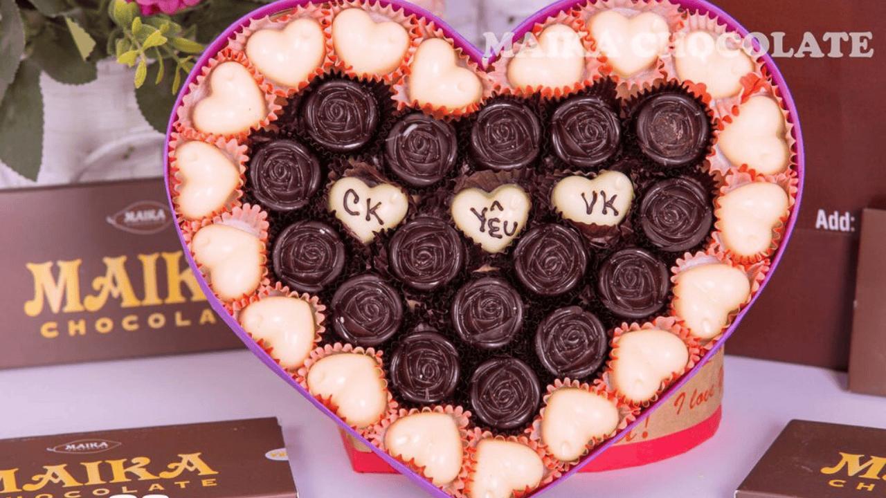 Socola tình yêu - món quà valentine ý nghĩa lãng mạn