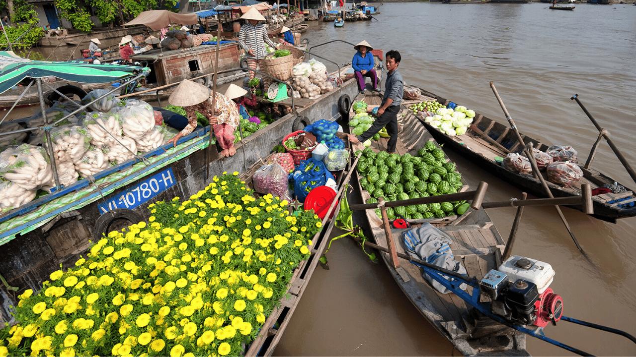 Hành trình trải nghiệm thú vị tại tour Sài Gòn - Sóc Trăng - Mỹ Tho - Cần Thơ