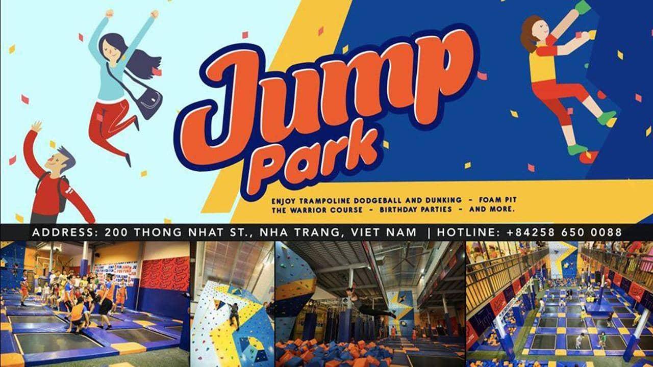 Jump Park Nha Trang là khu vui chơi giải trí đầu tiên và duy nhất tại thành phố biển Nha Trang