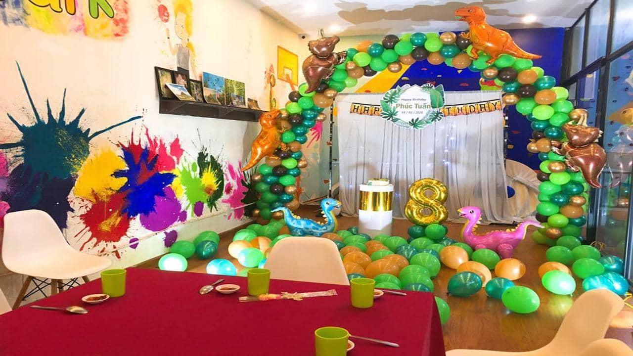 Tổ chức tiệc mừng sinh nhật độc đáo tại Jump Park