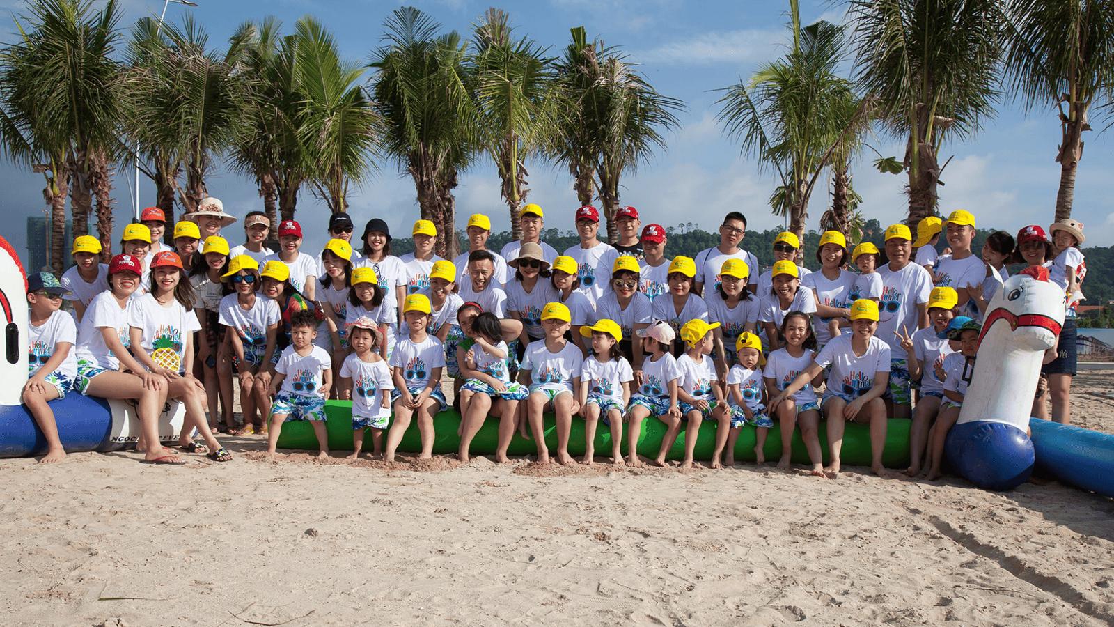Biển Bãi Cháy phù hợp với chương trình tổ chức team building đoàn thể