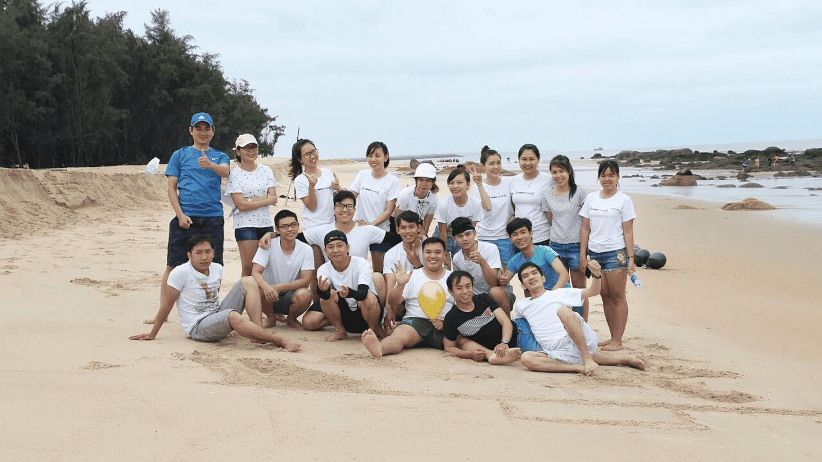 Biển Hồ Cốc là địa điểm lý tưởng để tổ chức team building
