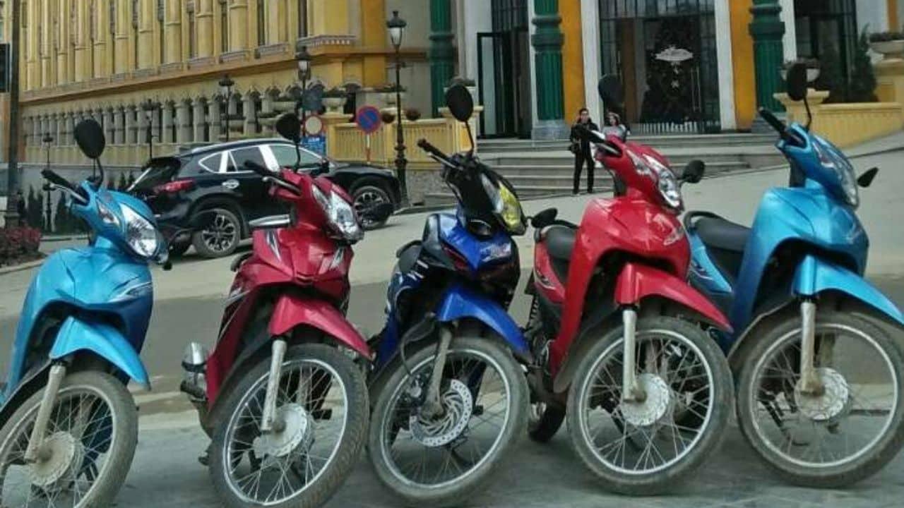 Long Sapa - Cho thuê xe máy ngay tại thị trấn Sapa