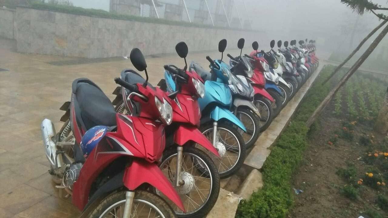 Thuê xe máy tại trung tâm thông tin du lịch Lào Cai