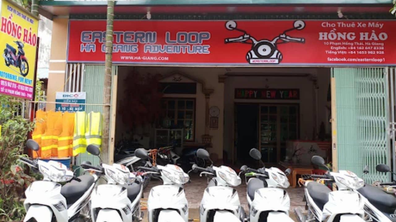 Nhà xe Hồng Hào là địa chỉ cho thuê xe máy Hà Giang có kinh nghiệm gần 10 năm.