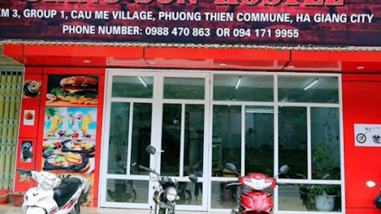 Thuê xe máy ở thành phố Hà Giang: Giang Sơn