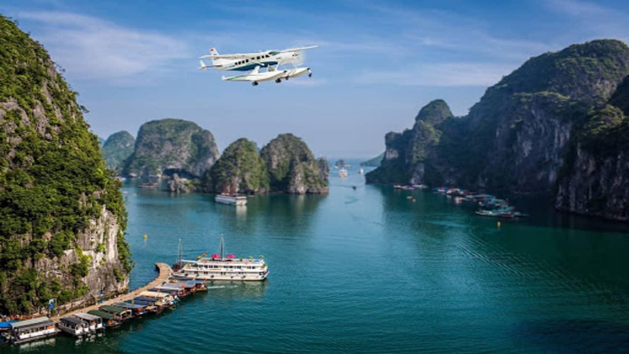 phương tiện duy nhất giúp du khách ngắm nhìn toàn cảnh vịnh Hạ Long từ độ cao 150m - 2000m với độ an toàn cao